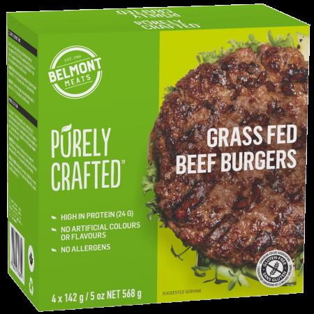 1010861_PURELY CRAFTEDΓäó_Grass Fed Beef Burgers_3D render